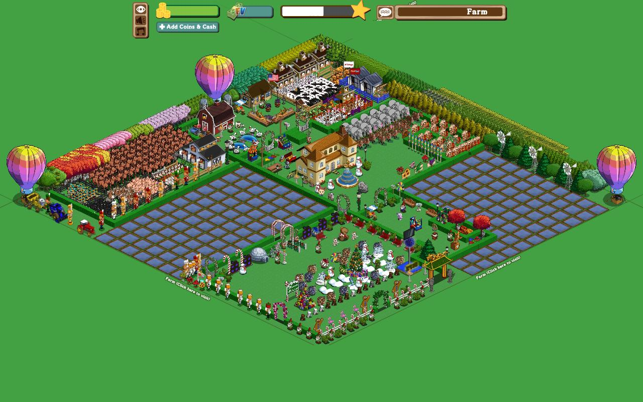 Farming Socially: Farmville from Zynga | Social Media Marketingfarmville town