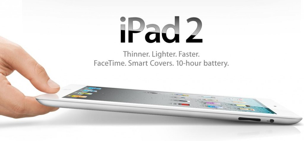 Apple iPad2 Steve Jobs Unveils iPad thinner and faster