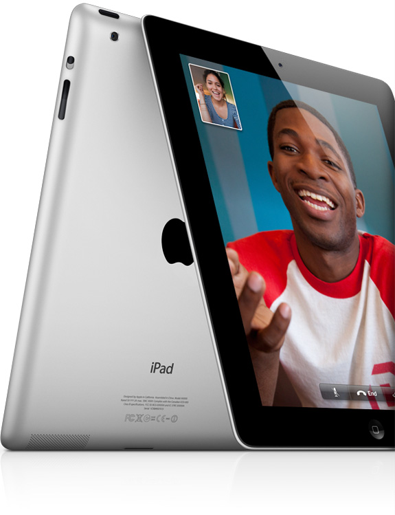 Facetime iPad2 Two camera dual