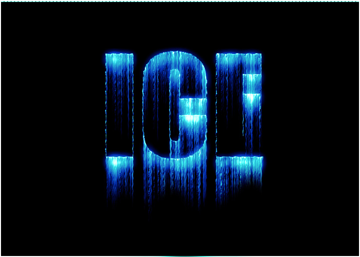 Creating frozen ice text effect in adobe photoshop