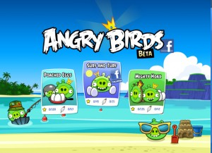 angry birds on facebook this valentine from rovio