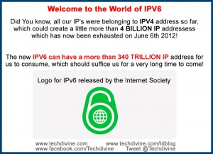ipv6 logo internet society