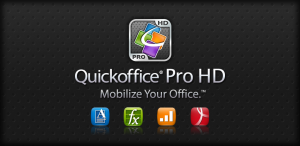 Quickoffice pro for documents