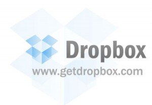 Dropbox logo and website