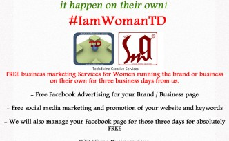 Celebrating womans day International Womans day #IamWomanTD