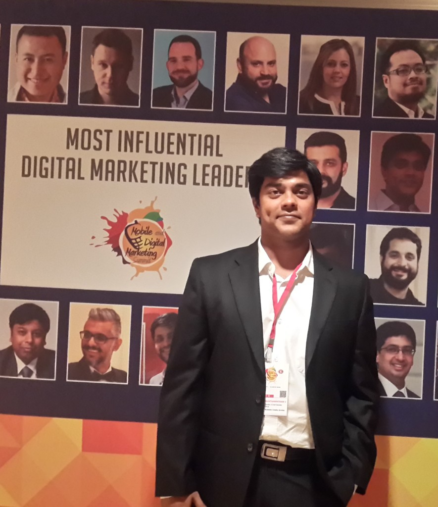 Most Influential Digital Marketing Leaders by CMO ASIA & World Marketing Congress - Ananth V 2016