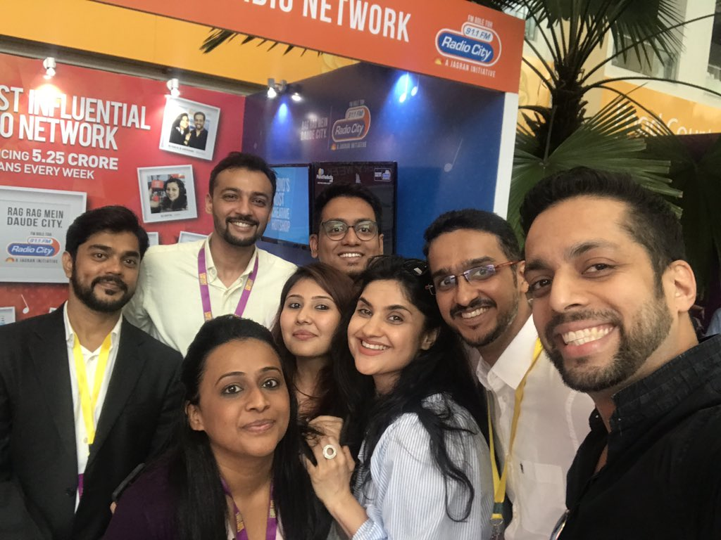 HUL Content Day 2017 RadioCity 91.1 FM AnanthV #PowerOfRadioCity #HULContentDay2017