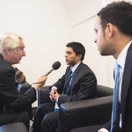 Ananth V BBC Interview by Peter Day on GPDF14 Vienna Austria