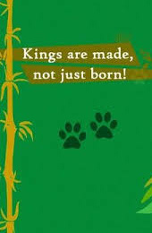 Kings are made not just born Ananth V