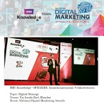 BBC Knowledge Digital Strategy SPEAKER Ananth V CMO ASIA World Marketing Congress World CSR Day Taj Lands End
