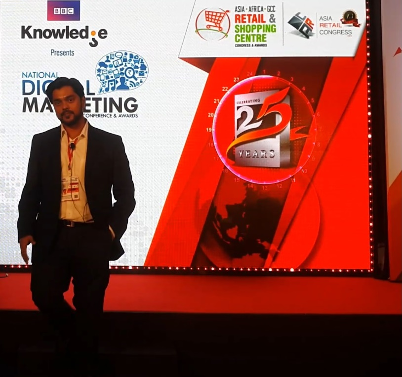 BBC Knowledge Digital Strategy Marketing Ananth V Speaker Taj Lands End, Feb 2017
